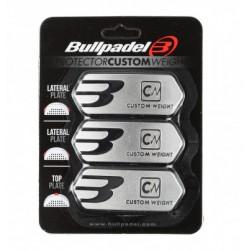 www.boxsports.es PROTECTOR BULLPADEL CUSTOM WEIGHT PLATA