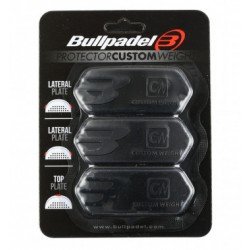 www.boxsports.es PROTECTOR BULLPADEL CUSTOM WEIGHT NEGRO