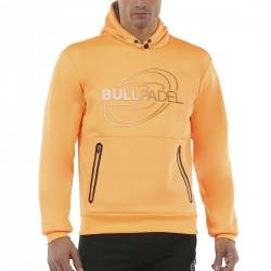 www.boxsports.es BULLPADEL  SUDADERA RUBIN MANDARINA FLOUR