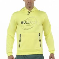 www.boxsports.es BULLPADEL  SUDADERA RAZMIN AMARILLO AZUFRE FLUOR