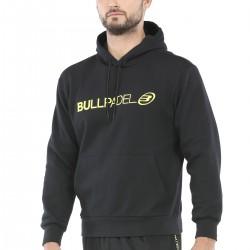 www.boxsports.es BULLPADEL  SUDADERA REDIPOL NEGRO